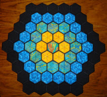 hexagon hexie quilt sets