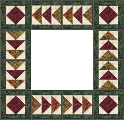 Chantell 39 s creations designs qprojects for Quilting templates for borders